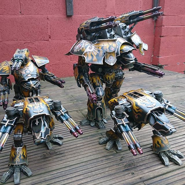 Mars Pattern Warlord Titan Body | Forge World Webstore