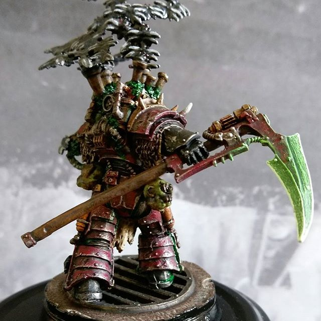 Calas Typhon First Captain of the Death Guard | Forge World