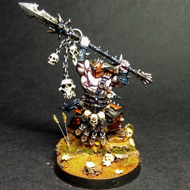 Exalted Deathbringer with Impaling Spear | Games Workshop