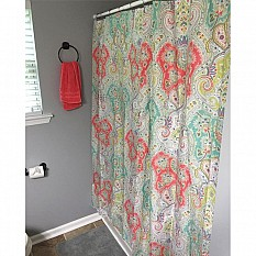 View Details Of Echo Design Cyprus Shower Curtain