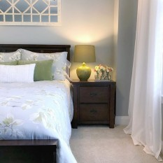 ef844dd9822b3 View details of Christian Siriano Soft Floral Comforter Set in Grey