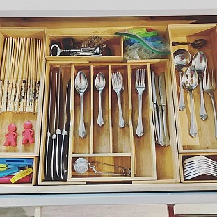 Kitchen Utensil Organizer
