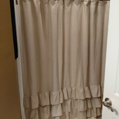 View Details Of Veratex Vintage Ruffle Shower Curtain