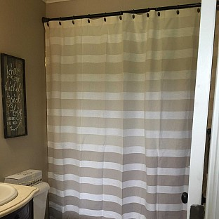 View Details Of DKNY Highline Stripe Shower Curtain